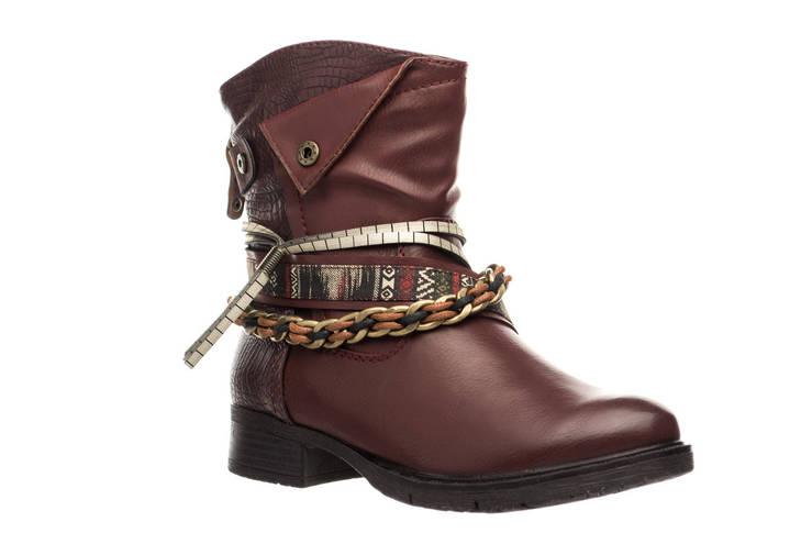 Жіночі черевики Jana 37 Burgundy, фото 2