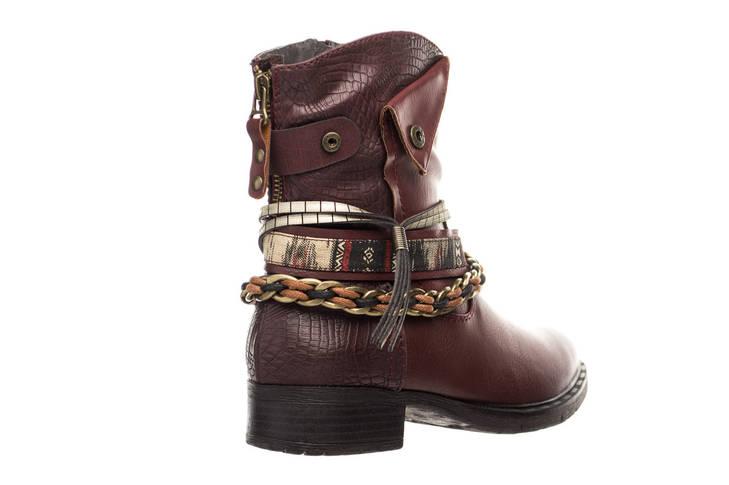 Жіночі черевики Jana 37 Burgundy, фото 3