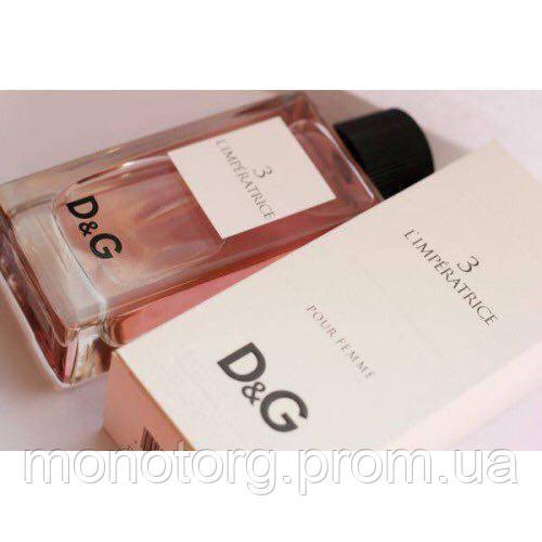 Женская туалетная вода Dolce   Gabbana 3 L`Imperatrice (Дольче ... bca06b94eff90