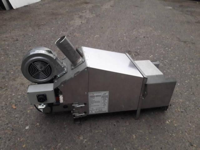 Горелка 100 кВт- вид с боку