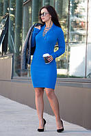 Вязанное платье Рианна, фото 1