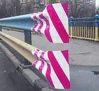 3М пленка световозвращающая призматическая для отражающих элементов барьерного дорожного ограждения