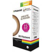 Набор нити 1.75мм WOOD (дерево) для ручки 3D Polaroid ROOT (15*5m)