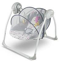 Кресло-качалка 2в1 Flo марки Kinderkraft (розовая)