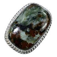 Серебряное кольцо с яшмой
