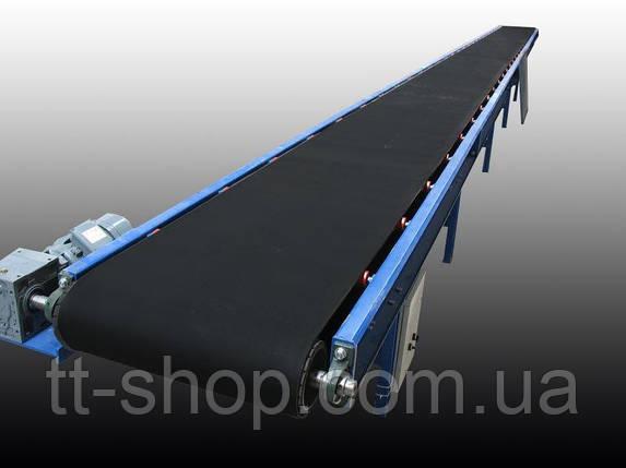 Ленточный конвейер длинной 10 м, ширина ленты 200 мм, фото 2