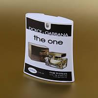 Женская парфюмированная вода Dolce&Gabbana The One в кассете 50 ml (трапеция) ASL