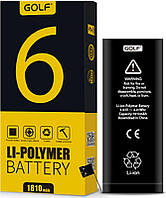 Аккумулятор GOLF iPhone 6G Battery 1810 mAh Black