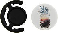 Держатель для телефона TOTO Popsocket plastic BNS 82 Pineapple Black, фото 1