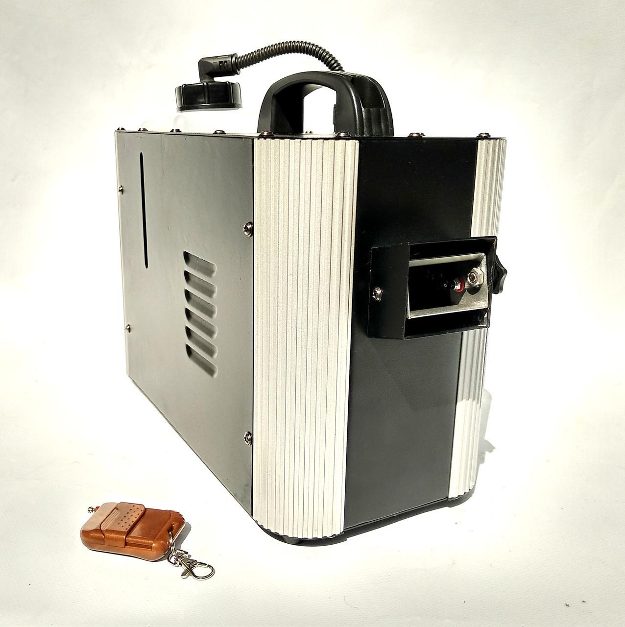 Генератор тумана с пультом дистанционного управления, dmx мощность 1200 ватт / дым машина.