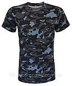 Камуфляжные футболки Город (баталы)