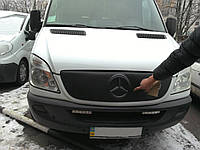 Зимняя заглушка на решетку радиатора Mercedes Sprinter 2006-2012 г.в
