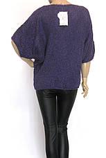 жіночий вязаний светр реглан оверсайз, фото 2
