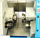 Двухшпиндельный, двухревольверный токарный станок RAIS Т252-2S , фото 2