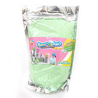 """Песок кинетический """"Green"""" зелен. 1кг, основа-нановолокно (IMG_4591)"""
