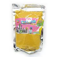 """Песок кинетический """"Yellow"""" желт. 1кг, основа-нановолокно(IMG_4589)"""