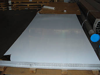 Нержавеющий лист зеркальный+пленка 0,5 х 1250 х 2500, фото 2