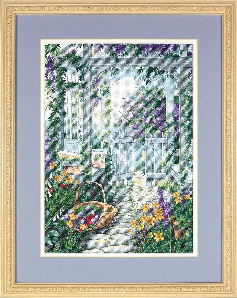Набор для вышивки крестом Dimensions 13692 «Садовые ворота»