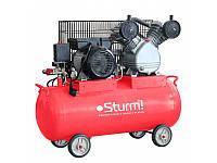 Воздушный компрессор ременной 100л, 2200 Вт, 336л/мин Sturm AC9365-100