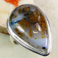 Серебряное кольцо с польской яшмой