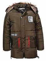 Куртка на меху для мальчика, рост 122 - 146, TM Glo-story BMA-7591, фото 1