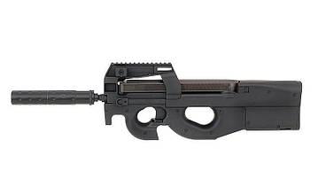 Пистолет-пулемет P90 с Глушителем Cyma CM.060B