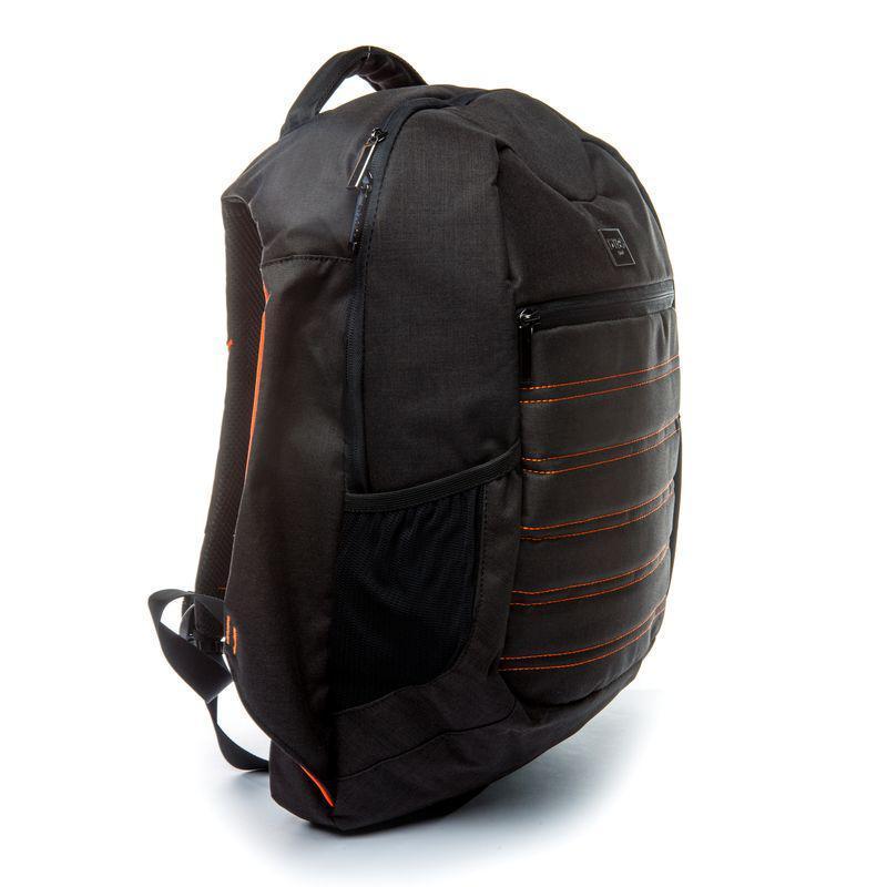 Рюкзак мужской городской с USB Апельсин BST 320009 31х21х47 см. черный