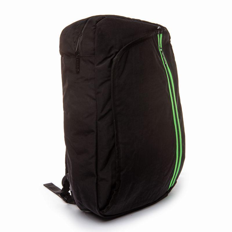 Рюкзак - сумка городская для ноутбука черная BST 320017 29х12х45 см. черный