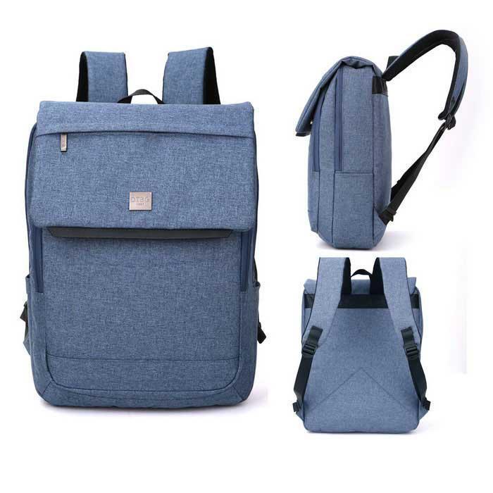 Рюкзак женский городской голубой