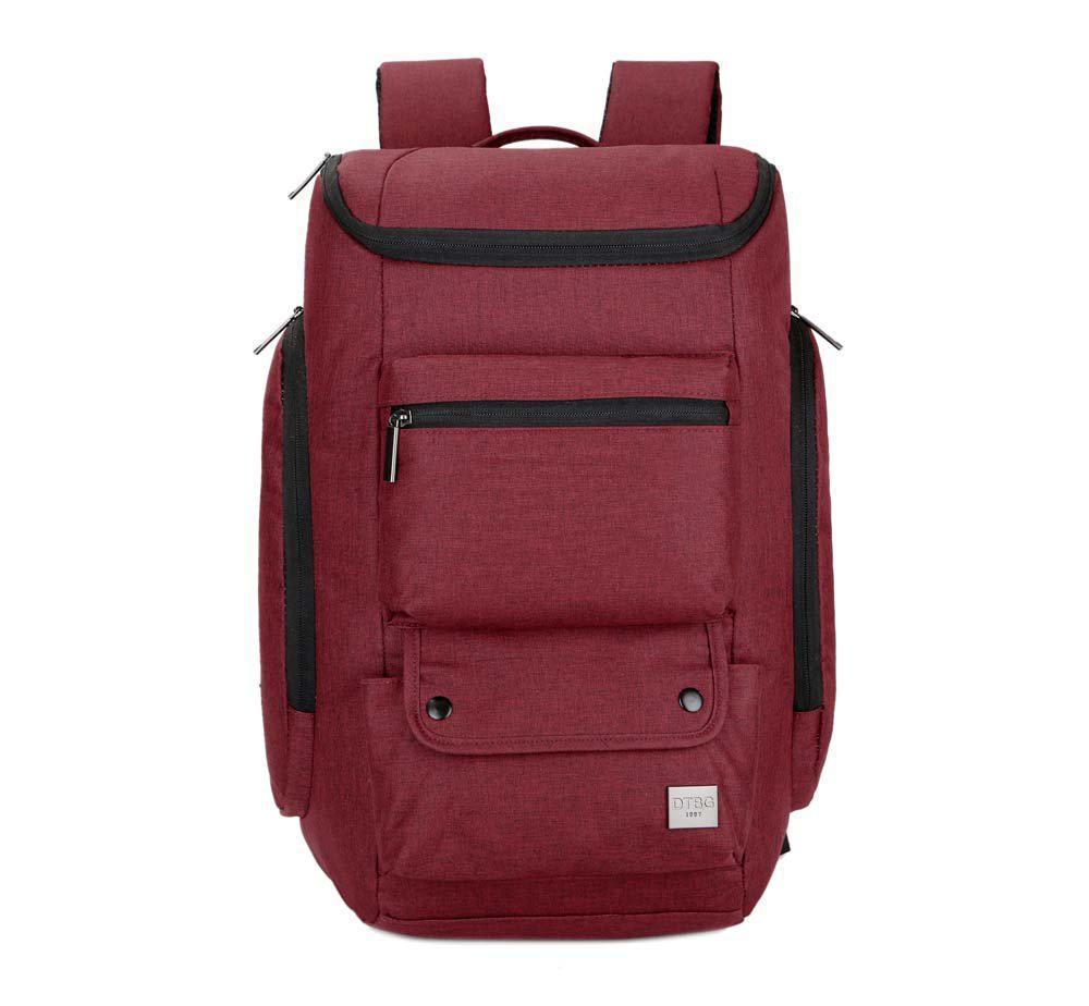 Рюкзак женский городской BST 320036 46х30х20 см. красный