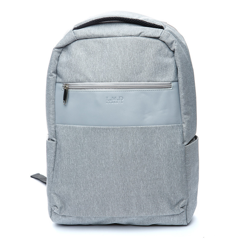 Рюкзак женский городской светло-серый