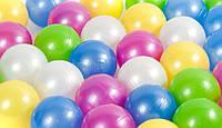 Мячики шарики для сухого бассейна и палатки 100 штук, диаметр 7.2. Украина