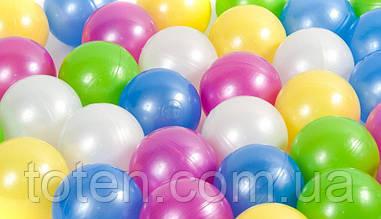 М'ячики кульки 100 штук для сухого басейну, діаметр 7.2. Україна