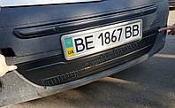 Зимняя накладка на решетку Renault Kangoo 2008-2013г.в. (нижняя в бампер)