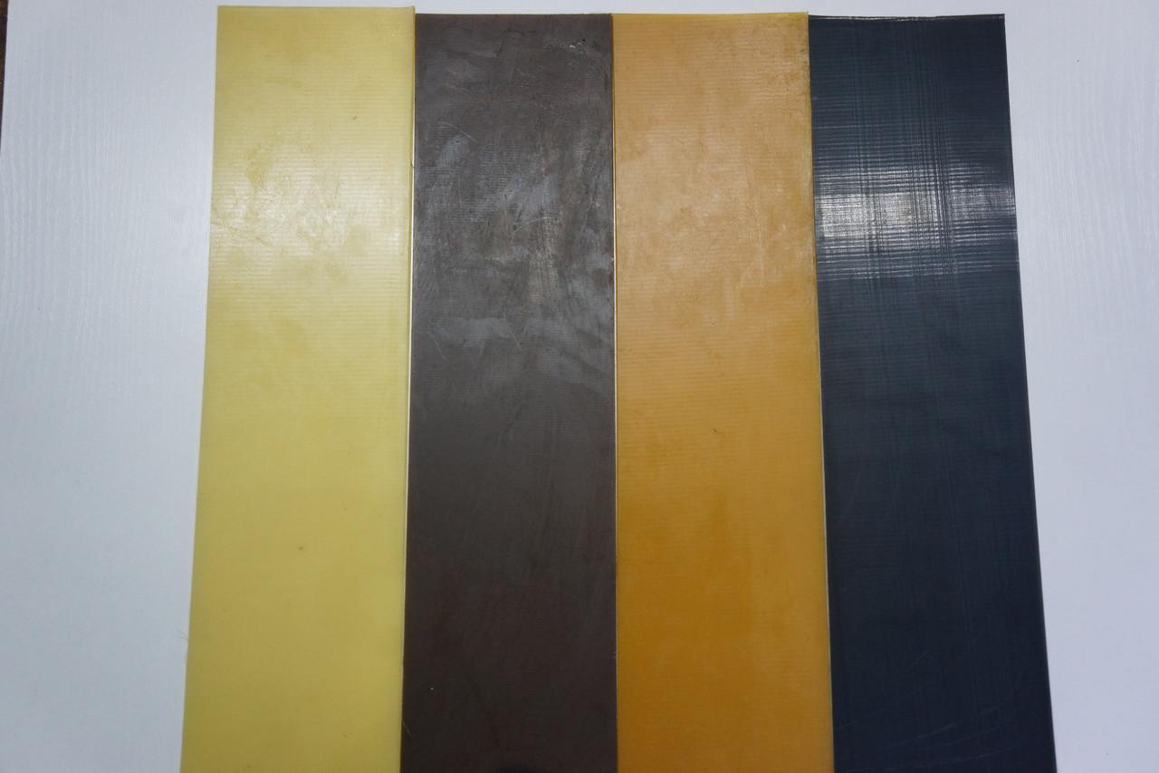 Полиуретан  Економ 100*400 т. 4,0 мм. цвет черный.