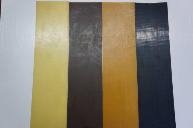 Полиуретан  Економ 100*400 т. 4,0 мм. цвет черный., фото 2