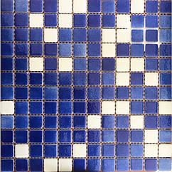 Мозаїка скляна Glass mosaic мікс HVZ-027