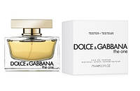 75 мл ТЕСТЕР Dolce&Gabbana The One Woman EDP