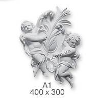 "Декоративный элемент ""Амур"" размер 400Х300"