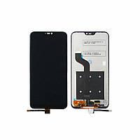 Дисплей для XIAOMI Redmi 6 Pro/Mi A2 Lite с чёрным тачскрином (ID:16538)