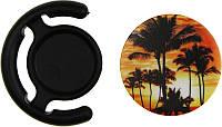 Держатель для телефона TOTO Popsocket plastic BNS 240 Palm Trees Black, фото 1