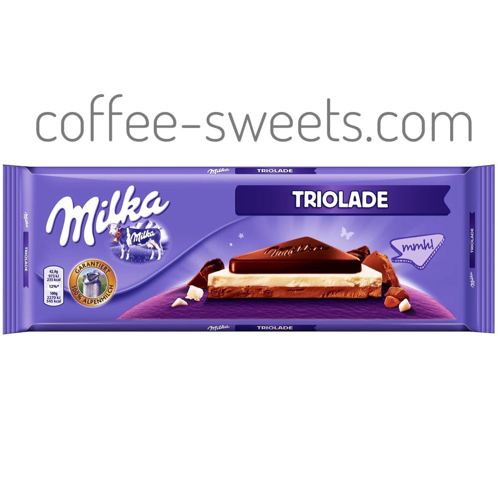 Шоколад Milka 300g Triolade
