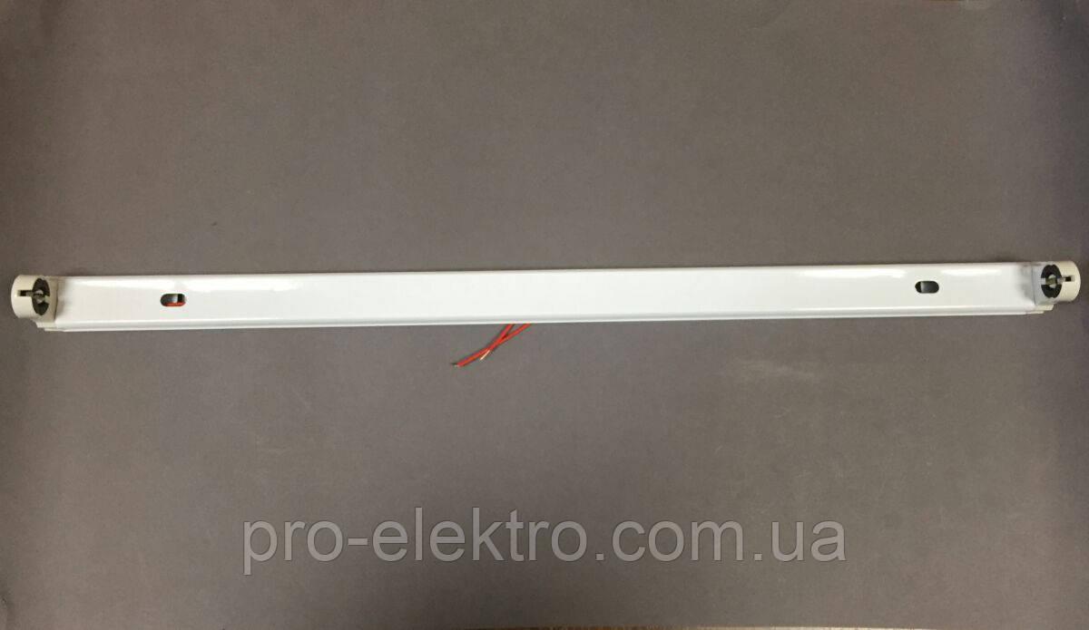 Светильник для светодиодной лампы Т8 (без лампы) Т8-600-PD