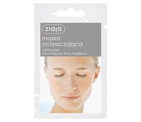 Ziaja Маска очищающая из серой глины