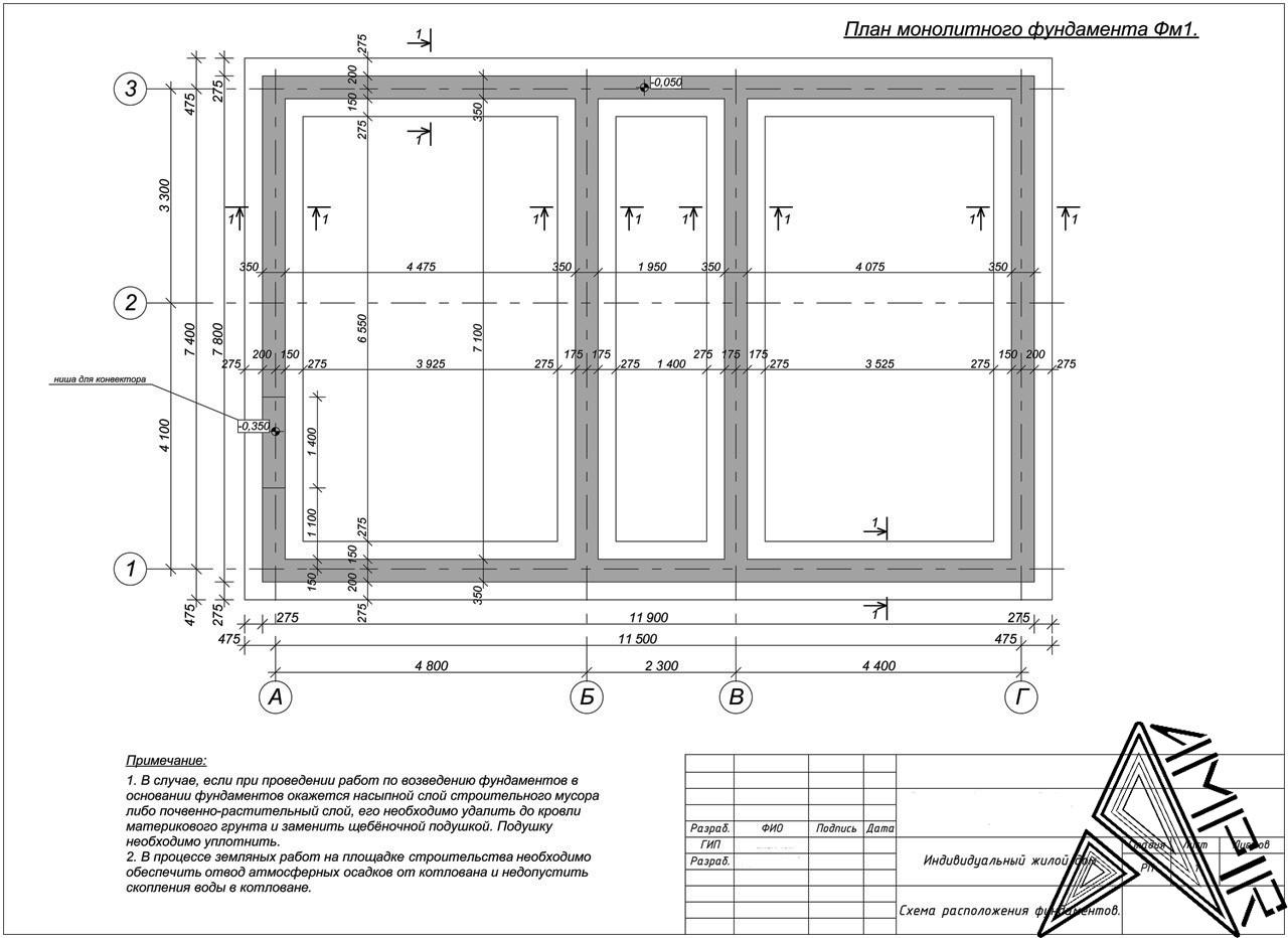 Конструкторский проект для частного дома, фото 1