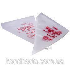Кондитерские мешки одноразовые M 100шт