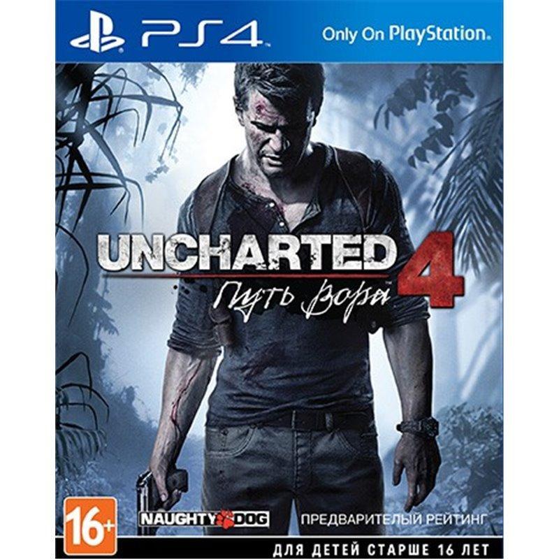 Игра Uncharted 4: Путь вора для Sony PS 4 (русская версия)