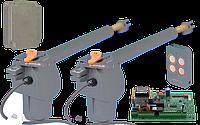 Автоматика для распашных ворот FAAC GENIUS GFlash Q (G-BAT 400) створка до 4 м MINI