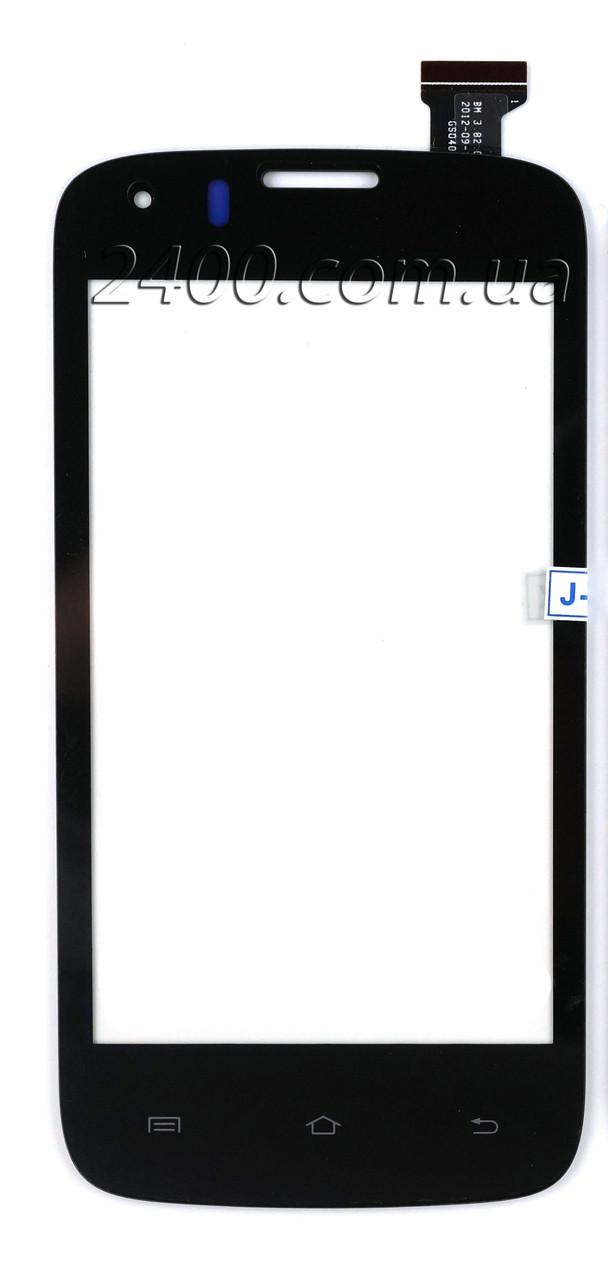 Сенсор для телефона Prestigio 4055 DUO тачскрин черный