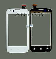 Сенсор для телефона Prestigio 4055 DUO тачскрин белый